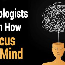 Psychologists Explain How to Focus Your Mind