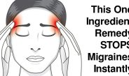This ONE Ingredient Remedy STOPS Migraines Instantly